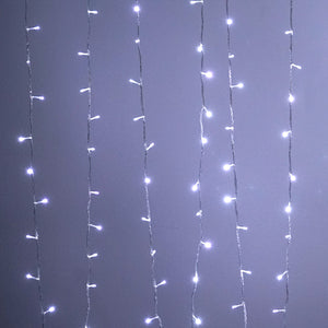 30FT | 100 LED White Sequential String Lights