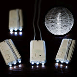 12 PCS Wholesale Luminous LED Lantern Hanging Battery Lights For Wedding Party Event Decoration