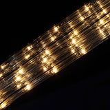 33FT Long Clear Waterproof Rope Lights With 250 Bright LEDs - 8 Light Modes