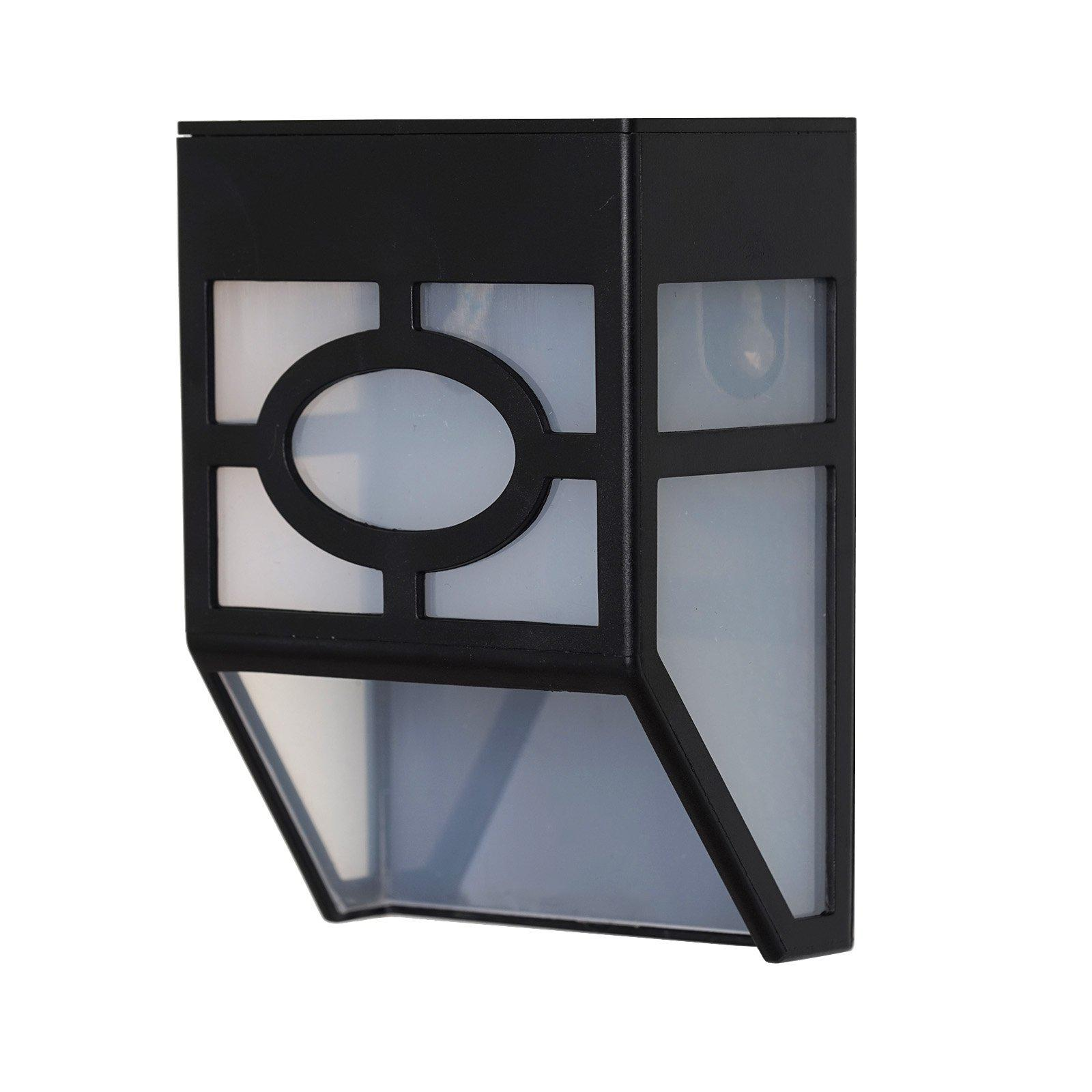 Solar Powered Wall Mount LED Light For Outdoor Garden Path Landscape Fence Lamp  Tablecloths