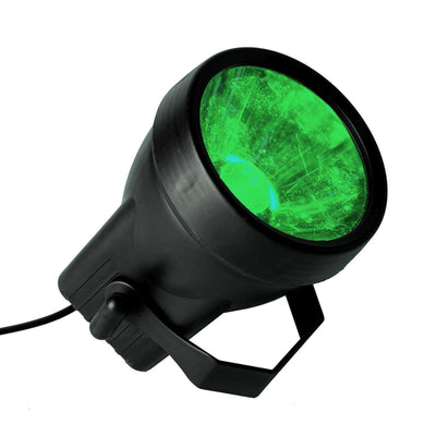 3 Watt Green LED Backdrop Uplight Landscape Spotlight