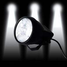 3 Watt White LED Backdrop Uplight Landscape Spotlight