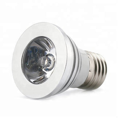3 Watt 16 Color Changing LED Spot Light with Remote