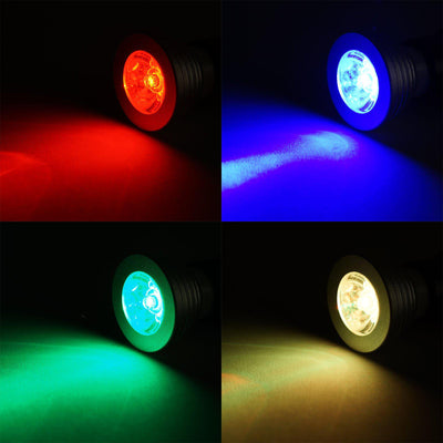 3 Watt 16 Color LED RGB Spotlight For Backdrop Wedding Stage With Wireless Remote