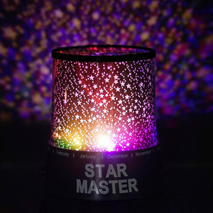 Color Changing Sky Projector Night Lamp