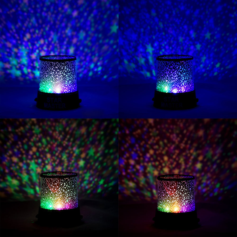 ... Starry Galaxy Sky Projector Cosmos Romantic Color Changing LED LAMP  Gift Set