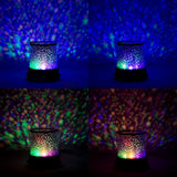 Starry Galaxy Sky Projector Cosmos Romantic Color Changing LED LAMP Gift Set