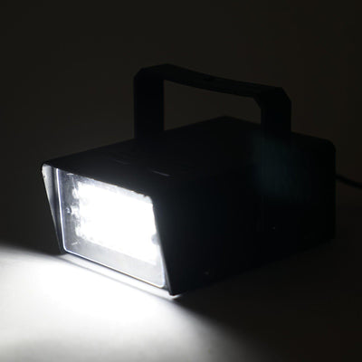 35 Watt White Strobe Light With 24 Bright LED & Flash Speed Control