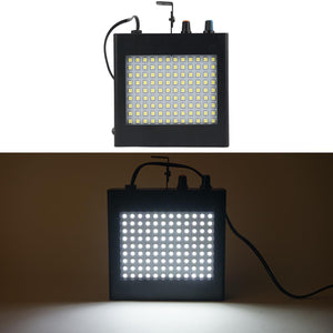 108 LED 25 Watt Super Bright White Strobe Light With Dual Mode Flash & Speed Control