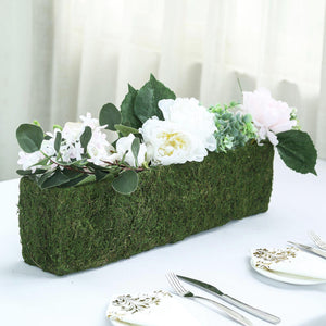 "23"" Rectangle Preserved Moss Planter Box with Inner Lining"