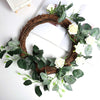 12 inch Grapevine Wreath, DIY Rustic Wreath, Natural Twig Wreaths