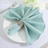 5 Pack - 20x20 Dusty Sage Polyester Linen Napkins