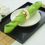 "20x20"" APPLE GREEN Wholesale Polyester Linen Napkins For Wedding Birthday Party Tableware - 5 PCS"
