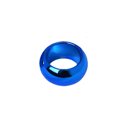 Pack of 4 | Midnight Blue Acrylic Napkin Rings
