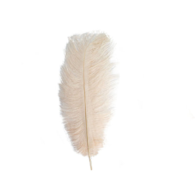 "12 Pack | 13""-15"" Blush Natural Plume Ostrich Feathers Centerpiece"