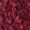 500 Burgundy Silk Rose Petals For Table Confetti