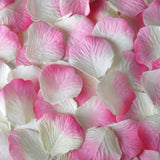500 Pink Silk Rose Petals For Table Confetti