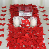 500 Pack Red Silk Butterfly Petal Confetti