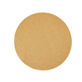 6 Pack Placemats, Champagne Dining Table Mats, Round Faux Leather Glitter Placemat - 13 inch