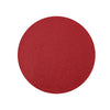 6 Pack Placemats, Red Dining Table Mats, Round Faux Leather Glitter Placemat - 13 inch