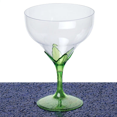 6 Champagne Goblet - Green