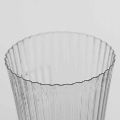 24 Pack 3oz Clear Twirl Disposable Shot Glass