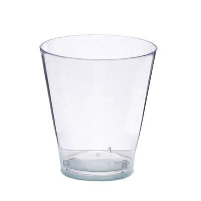 50 Pack Clear 2oz Crystal Disposable Shot Glass