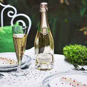 12 Pack Clear 5oz Trendy Hollow Stem Plastic Disposable Champagne Flutes