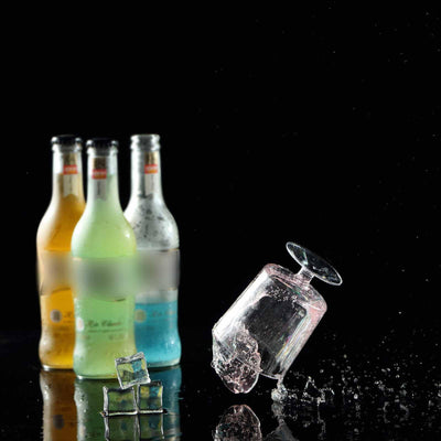 12 Pack 8oz Clear Innovative Plastic Disposable Wine Glass