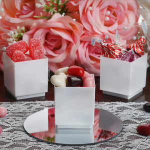 Wholesale Dessert Favor White Wedding Cup Cake Cube Birthday Party - 12 PCS