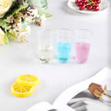12 Pack 3 oz Plastic Round Straight Wall Disposable Shooter Dessert Glasses