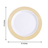 Salad Plate, Dessert Plates, Plastic Disposable Plates