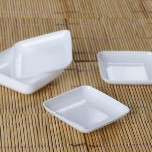 24 Pack - Mini Disposable Dessert Plate   - Chambury Plastics