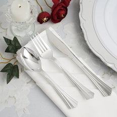 Plastic Silverware Set, Plastic Cutlery Set