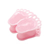 12 Pack | 3.5inch Pink Baby Feet Favor Containers, Baby Shower Party Favors
