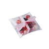 "25 Pack Plastic Clear Pillow Shape Favor Candy Boxes - 3""x 4"" x 1"""