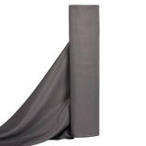 "10 Yards 54"" Wide Charcoal Grey Rolls of Polyester Fabric"