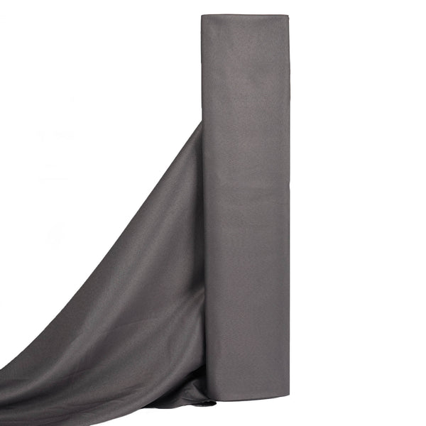 "10Yards 54"" Wide Charcoal Gray Rolls of Polyester Fabric"