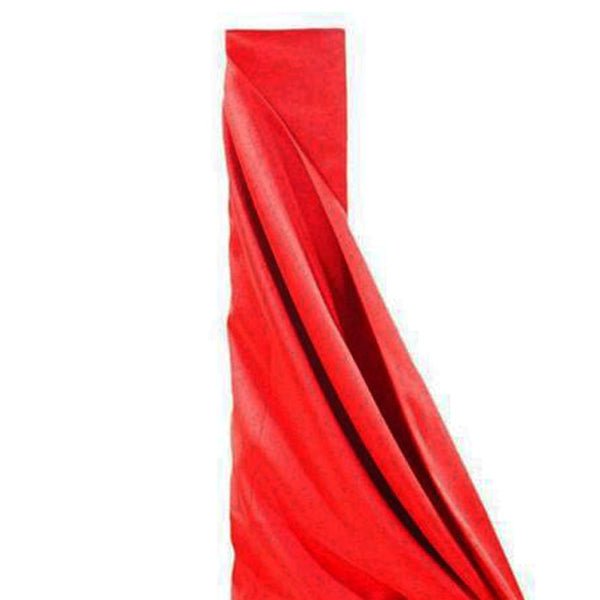 "10Yards 54"" Wide Red Polyester Fabric Bolt"