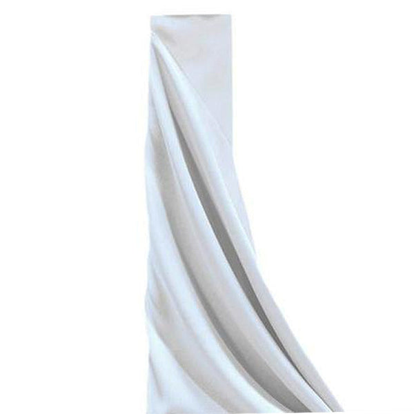 "10Yards 54"" Wide White Polyester Fabric Bolt"