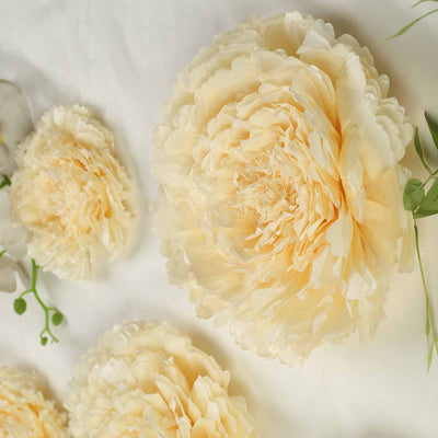 "Multi-size Carnation 3D Giant Paper Flowers | Paper Flower Backdrops Wedding Wall | 7""/9""/11"""