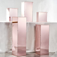 Blush | Rose Gold Mirror Box | Acrylic Display Boxes