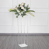 Acrylic Floor Vase, Flower Stand, Wedding Columns