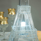 "59"" Color Changing LED Metal Eiffel Tower"