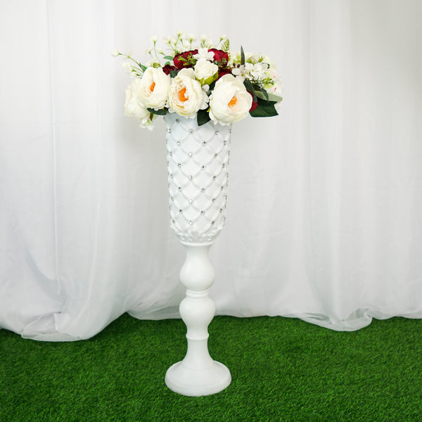 "2 Pack | 32"" Tall White PVC 