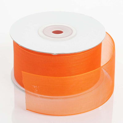 1.5Inch x 25Yards | Organza Ribbon Mono Satin Edge