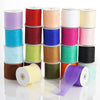 25 Yards 3 Inch Organza Ribbon With Satin Edges For Wedding Decoration