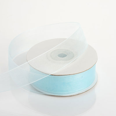25 Yard | 7/8 Inch | DIY Organza Ribbon With Mono Edge