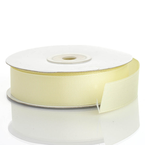 "25 Yards 7/8"" Yellow Grosgrain Ribbon - Clearance SALE"