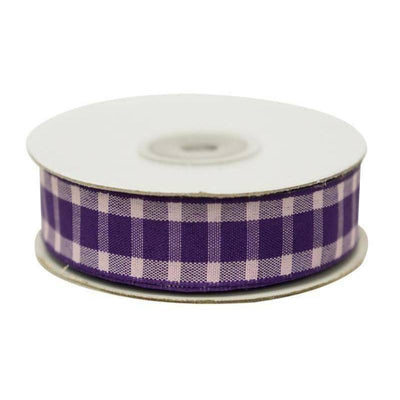 Buffalo Plaid Ribbons | 25 Yards | 5/8"